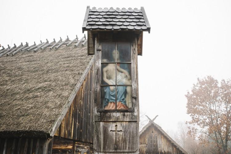 The shrine, Wdzydze kiszewskie, Kaszuby, Poland